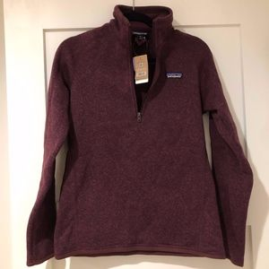 NWT Patagonia Women's Better Sweater 1/4 Zip M
